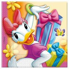 Donald & Daisy Duck Party - Daisy Duck Party Lunch Napkins x 20