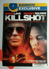 KILLSHOT DIANE LANE MICKEY ROURKE MINI POSTER BACKER CARD (NOT a movie )