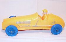 Tomte Laerdal 26cm Big HISTORIC CIGAR RACING CAR Vinyl PVC Model NM`60 VERY RARE
