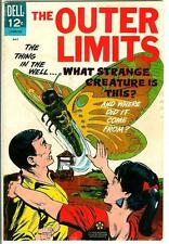 THE OUTER LIMITS #13 1967 rare US Dell sci-fi horror TV tie-in comic book VG+ 5.