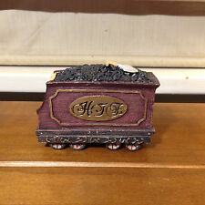 Used JC Penney Home Towne Express Coal Tender 1998 Edition Figurine