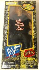 WWF WWE THE ROCK Wrestlemania Wizards Toyfare Jakks Pacific 1999 NIB