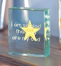 I am So Glad That You Are My Dad Token Christmas Gift Ideas for Him Dad 1795