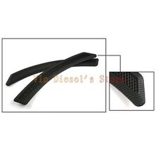 EVO A pair Mesh Style JDM Carbon Front Fender Side Vent Cover For Lancer GTS ES