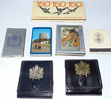 MATCHES : MATCH BOXES / MATCH BOOKS - VARIOUS BRITISH THEMED (PM)