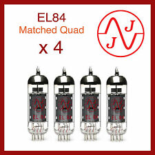 JJ Electronics EL84 / 6BQ5 Power Vacuum Tube - Matched Quad 4 Pieces
