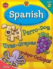 NEW BRIGHTER CHILD WORKBOOK ~ SPANISH GRADE 2