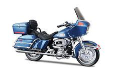 Harley Davidson 1980 FLT Tour Glide Blue 1:18 Motorcycle Model Diecast