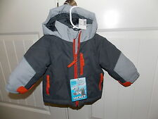 The Children's Place ThermoLite Plus All Weather Jacket GRAY/ORANGE 6-9 Months