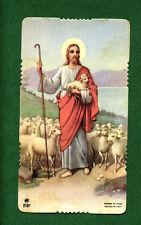 Santino Antico  Gesù Buon Pastore  IMAGE PIEUSE - HOLY CARD SANTINI