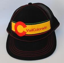 """C Vail Colorado"" Mountain West Summer College Baseball OSFA Baseball Cap Hat"