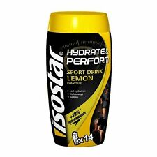 ISOSTAR CONTAINER LEMON POWDER 560 g HYDRATE & PERFORM ( sport, isotonic )