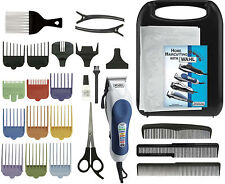 NEW Wahl 79300-1001 26PC Home Pro Color Coded Haircut Kit Set Haircutting System