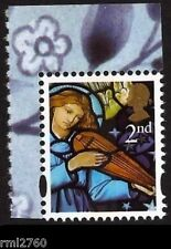 2011 SG 3186a  Xmas 2nd LITHO Gummed from William Morris PSB - Single Mint Stamp