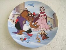 Disney's Beauty and The Beast WARMING UP Collector Plate 3rd