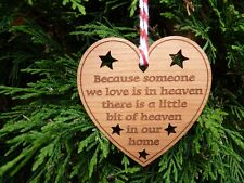 In Memory Of Christmas Bauble Decoration Bereavement Memorial Christmas Ornament