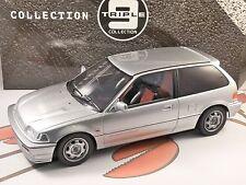 Honda Civic EF3 si en Plata 1/18 Escala Modelo por triple 9 Colección