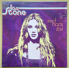 JOSS STONE, Mind Body and Soul,Right To Be Wrong VINYL Album ( SEALED )