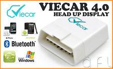 VIECAR 4.0 Bluetooth OBD2 + HUD Car Diagnostics Scanner iOS iPHONE iPAD ANDROID