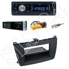 Caliber RMD021 Autoradio + Mazda 6 (GH) Blende rubber touch + ISO Adapter Set
