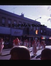 35mm Vintage Slide Parade Middle East Marching Band Main Street People 1970!!!