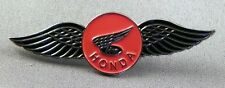 Metal Enamel Pin Badge Brooch Bike Motorbike Wings Logo Hond Tourer Large