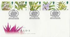 (88047) CLEARANCE GB FDC Orchids - Glasgow World Orchid Conference 19 Jan 1993
