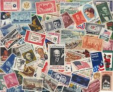 100 All Different MINT Vintage United States Stamps! MNH, Clean, Nice!