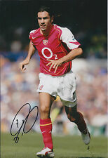 Robert PIRES Pirès SIGNED Autograph 12x8 Photo AFTAL ARSENAL French Football