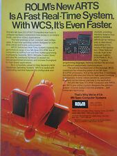 7/1980 PUB ROLM MIL SPECS COMPUTERS ECLIPSE DATA SYSTEM US AIR FORCE F-15 AD
