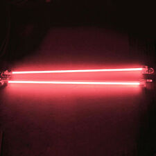 "2X Red 12"" CCFL Dual Cold Cathode Car Interior Lights Kit PC Bright US Delivery"
