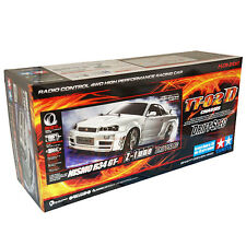 Tamiya 1:10 TT-02D R34 GT-R Z-tune Drift Spec EP RC Car Kit w/ESC On Road #58605