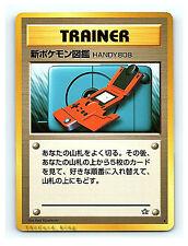 NEW POKEDEX Trainer JaPaNeSe Neo Genesis Pokemon Cards EXCELLENT