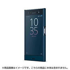 Sony Style Cover Touch SCTF10 for Xperia XZ Forest blue SCTF10JP/F Free Shipping