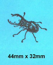Stag Beetle Rubber Stamp