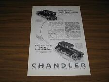 1924 Print Ad Chandler Cars with Pikes Peak Motor Cleveland,OH