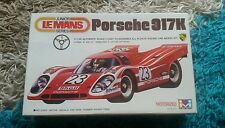 Mitsuwa 1/28 Porsche 917K Le Mans Motorized Kit Great Condition Super Rare