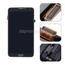US LCD Screen Touch Digitizer + Bezel Frame for Samsung Galaxy Note 3 N900A Gray