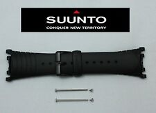 Suunto Vector ORIGINAL Black Military Regatta Altimax Watch BAND Strap w/ 2 Pins
