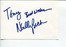 Noelle Beck The Carrie Diaries As the World Turns Rescue Me Signed Autograph