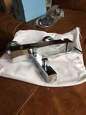 Square Spout Bath Filler Shower Mixer Bathroom Tap Chrome