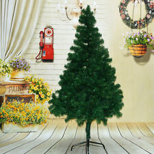 Hot 5ft./1.5m Artificial Christmas Tree Green with Metal Stand Xmas Decorations