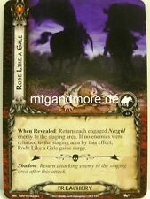 Lord of the Rings LCG - 1x rode like a Gale #075 - The Black Riders
