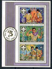 Aitutaki 1981 BF 41 75°anniv dello scoutismo mnh