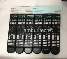 Sony RM-VZ320 7 Device Universal Remote Lot Of 6  TV,DVR,Cable,DVD, 1 Manual