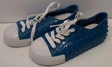 MINI MELISSA Blue Infant Toddler Boys Soft Rubber Sneakers Trainers Shoes UK9