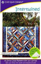 INTERTWINED QUILTING PATTERN, A Strip Club Pattern From Cozy Quilt Designs