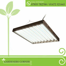 Hydroponics Propagation Plant Grow Light T5 Lightwave CFL Lighting 4ft x 6 Bulbs