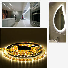 2m LED cabinet Strip Light Warm White 120 LEDs 12v dc 9.6w Non-Waterproof