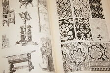 SPELTZ STYLES OF ORNAMENT ILLUSTRE 1906 ARCHITECTURE RELIURE ORNEMENT